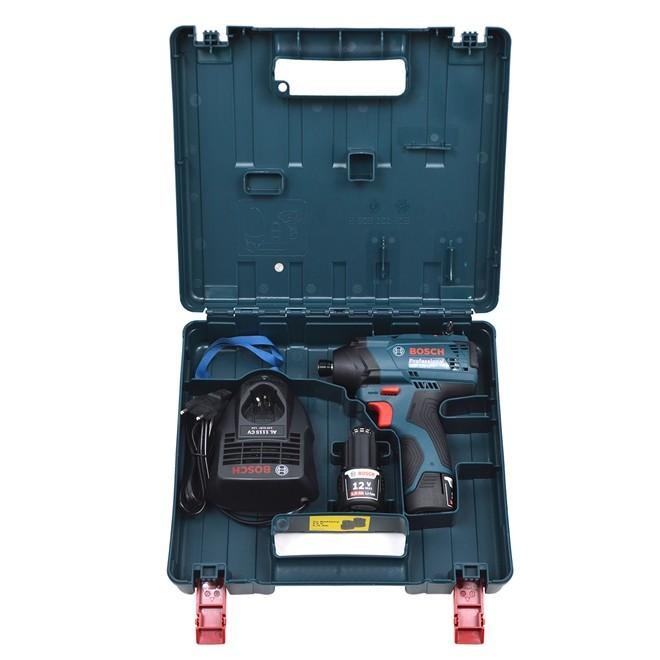 Parafusadeira Impacto 1/4 12V GDR 120-LI 2 Baterias - Bosch