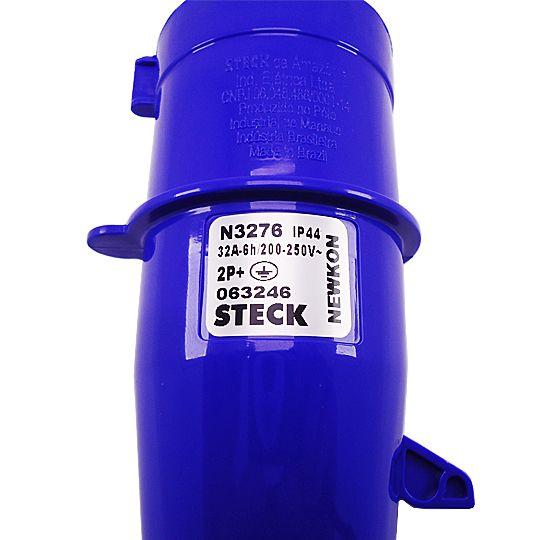 Plug 2P+T 32A 200/250V N3276 - Steck