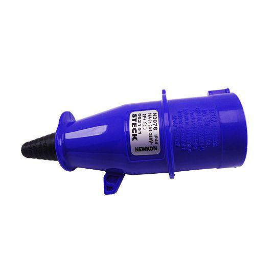 Plug Newkon 2P+T 18A 200/250V N3076 - Steck