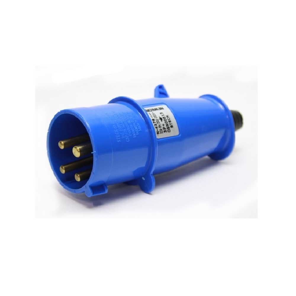 Plug Steck 32A 220V Azul 3P+T N4279