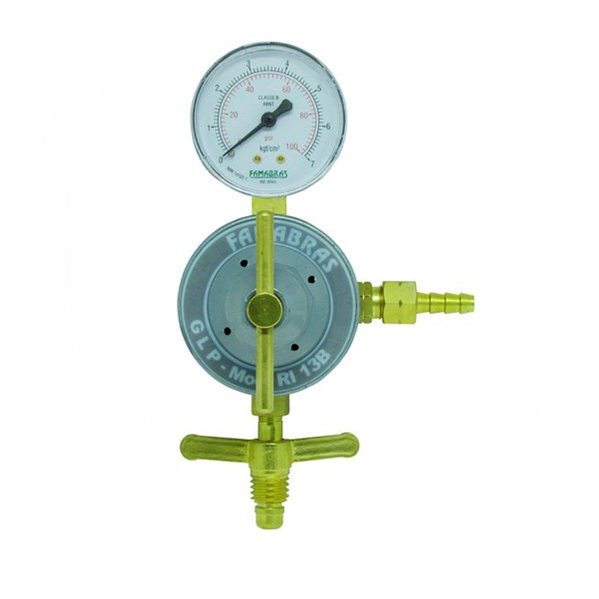 Regulador de Pressão RI-13B Série GLP Gás Natural