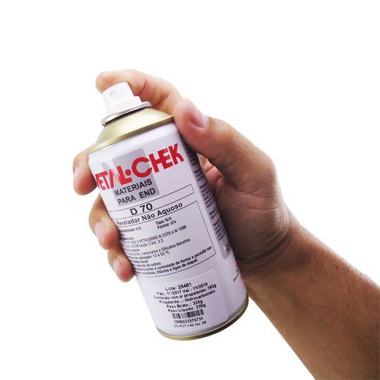 Revelador Não Aquoso D 70 Spray - Metal Chek