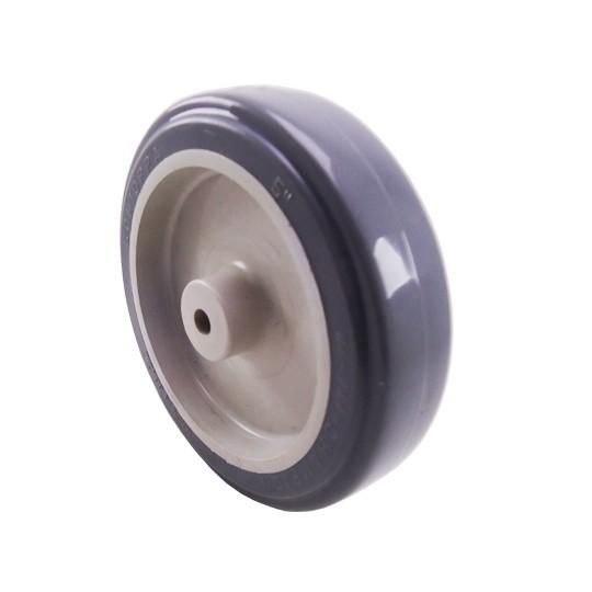 Roda Plástico Cinza 5 Pol. 125mm até 75kg Schioppa