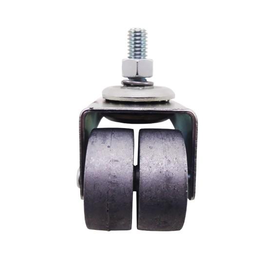 Rodízio 1.5/8 GLDE 158 Z Giratório Alumínio  150 Kg - Schioppa