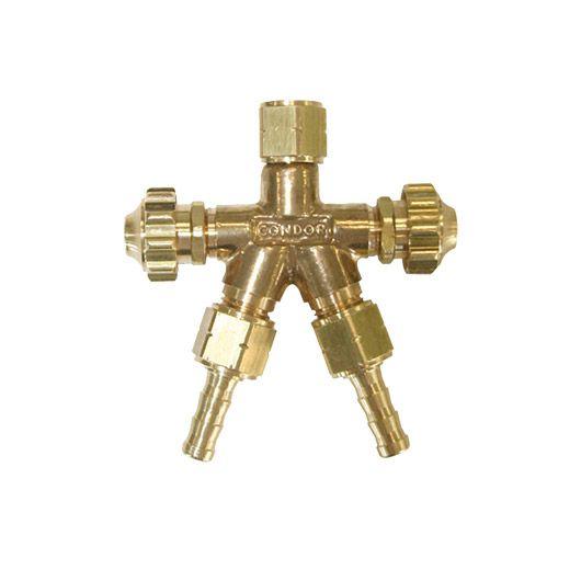 Saída Dupla Gás / Acetileno  Conexão Y Condor 0911493