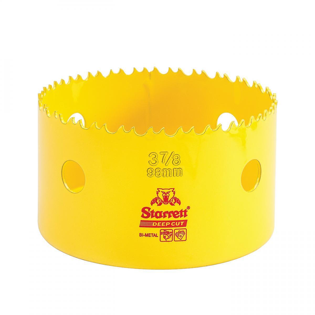 Serra Copo Deep Cut 3.7/8'' (98mm) Starrett – DCH0378-G