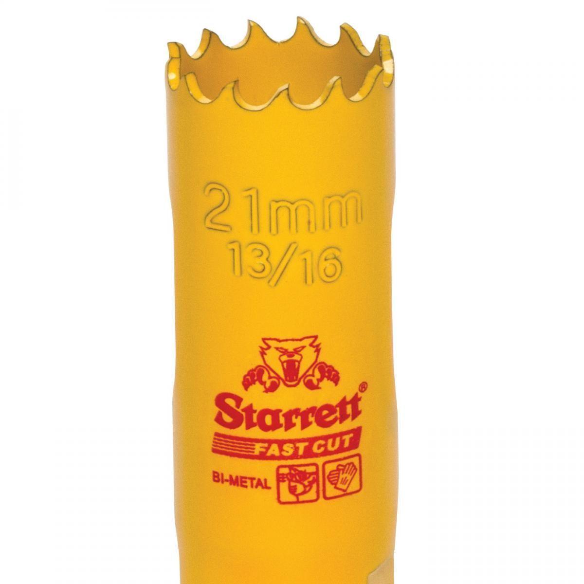 Serra Copo Fast Cut 13/16'' (21mm) - FCH1036-G Starrett
