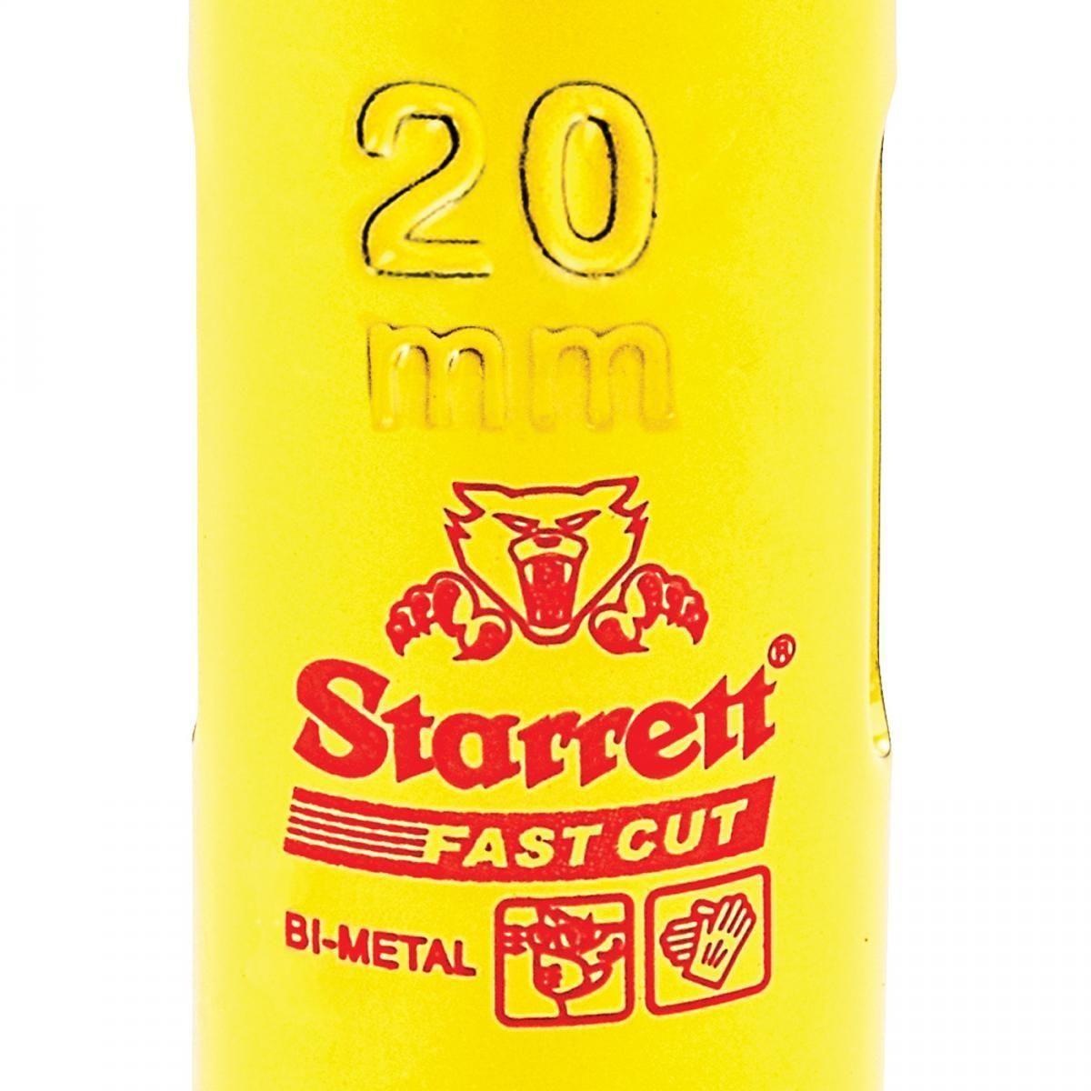 Serra Copo Fast Cut (20mm) - FCH020M-G Starrett
