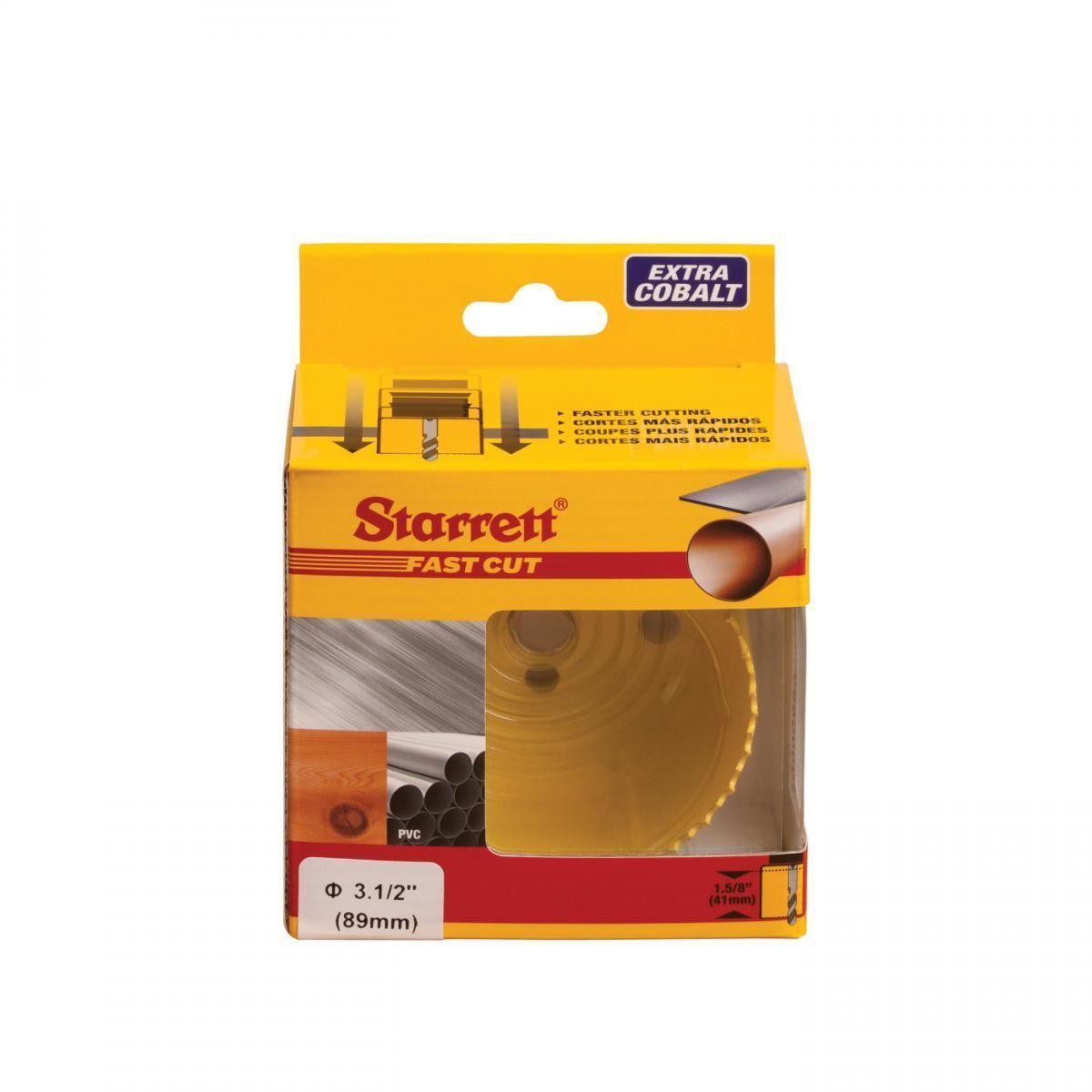 Serra Copo Fast Cut 3.1/2'' (89mm) - FCH0312-G – Starrett