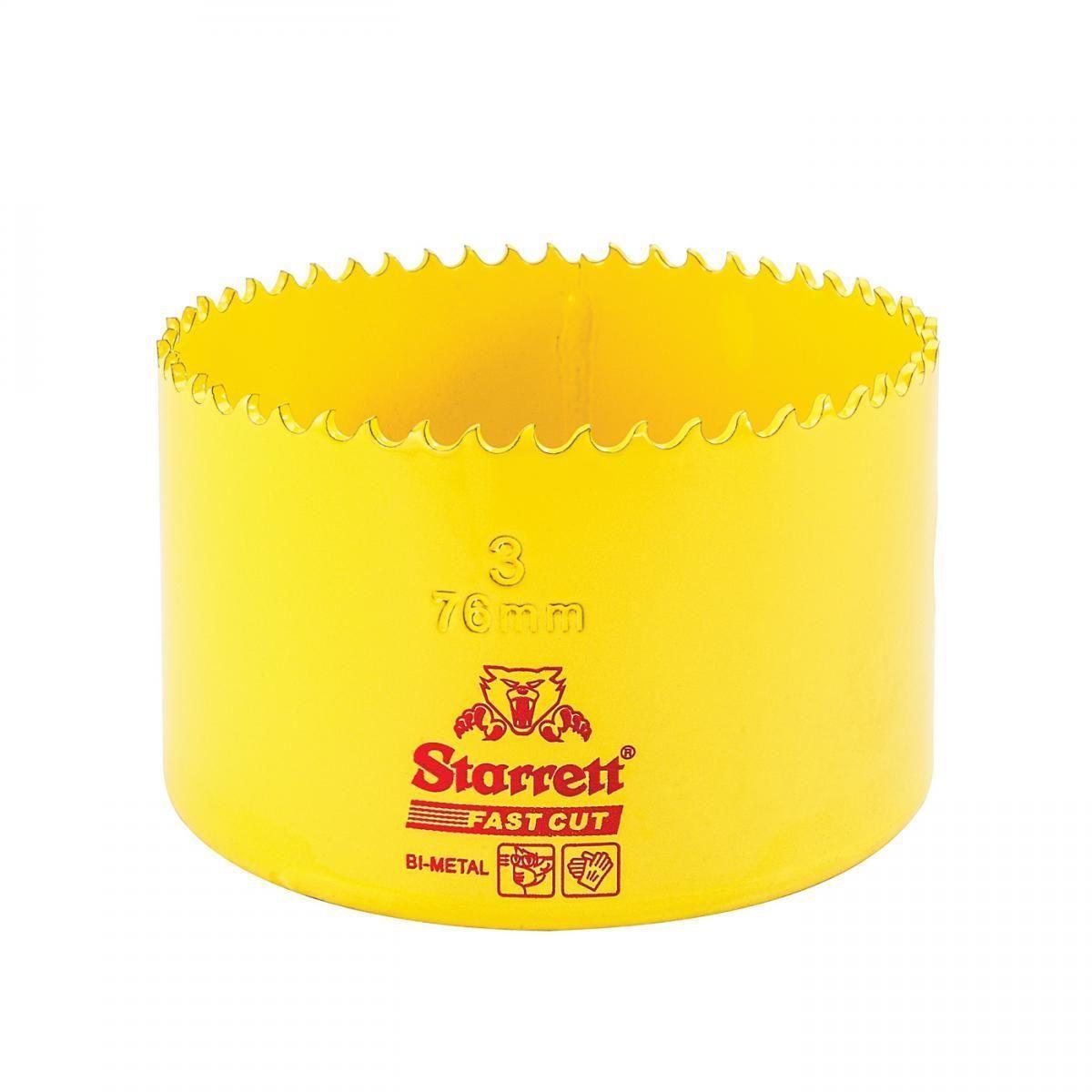 Serra Copo Fast Cut 3'' (76mm) - FCH0300-G Starrett