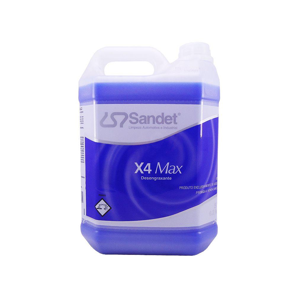 Solupan Desengraxante X4 Max Sandet 5 Lts