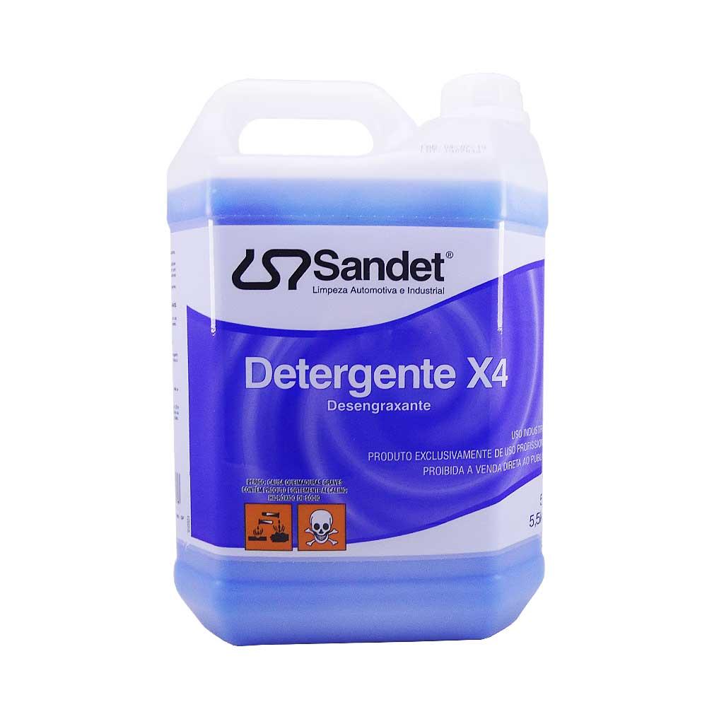 Solupan Desengraxante X4 Sandet 5 Lts
