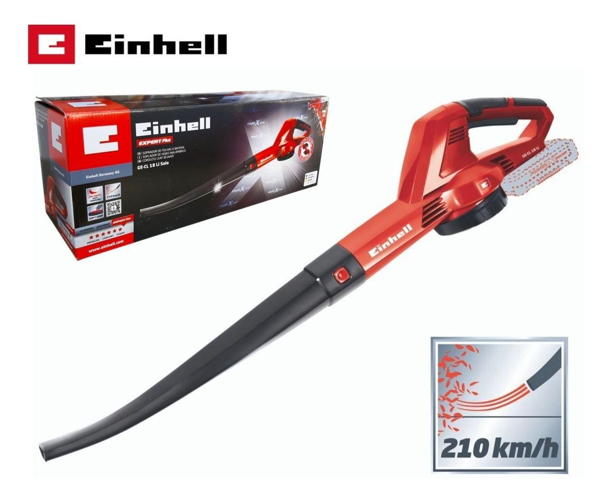 Soprador de Folhas a Bateria Einhell GE-CL 18 Li Solo