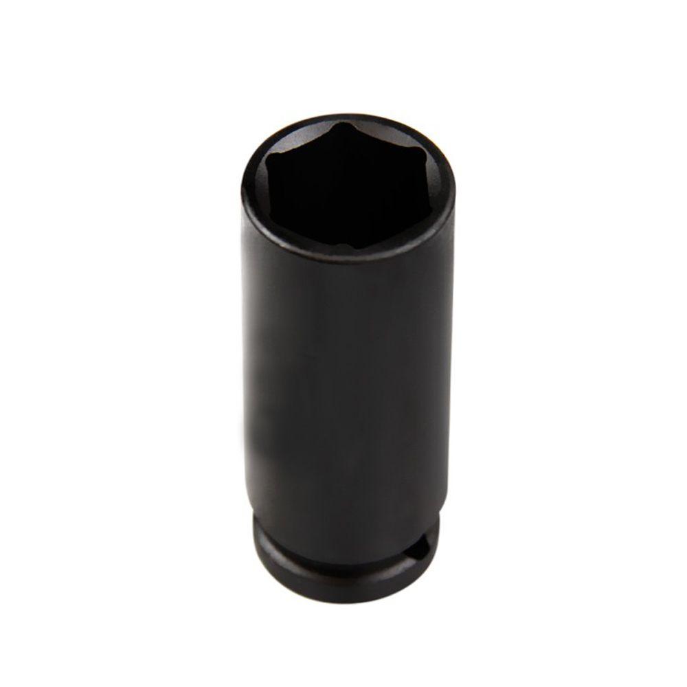 Soquete Impacto Sextavado longo em aço cr-mo 23 mm Encaixe 1/2''