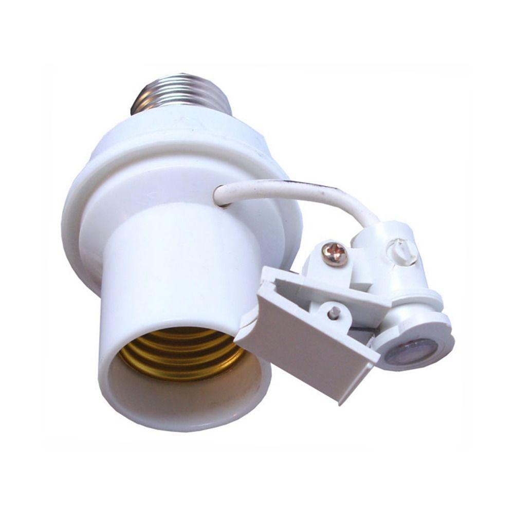 Soquete Sensor Fotocélula E27 Automático DNI Bivolt