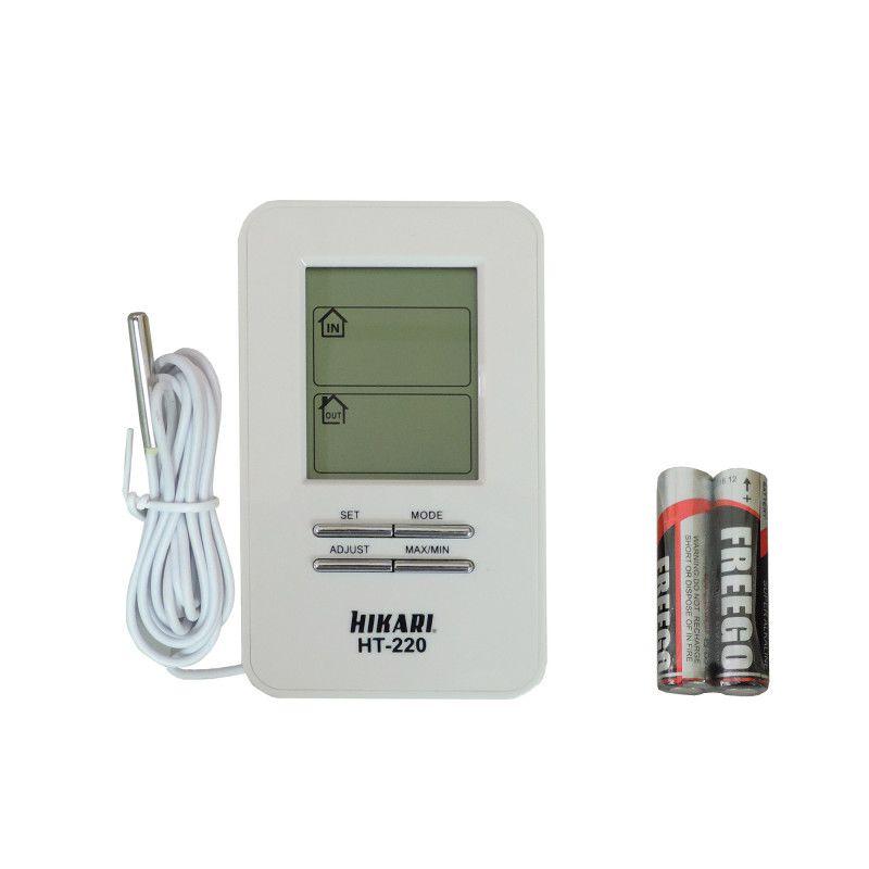Termômetro Digital HT220 Hikari C/ Pilhas