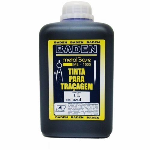 Tinta Para Traçagem Azul Baden - 1 Litro