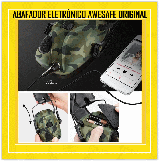abafador awesafe original - usa