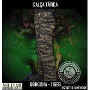 Calça Tática Militar Mb Górgona - Camo Ground Tiger Modular
