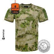 Camiseta Tshirt ARMY ATACS FG INVICTUS Tática Velcro