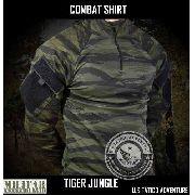 Combat Shirt Full Camo 1982 Acu G2 Camo Tiger Jungle