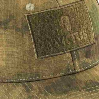 Boné Tático Invictus Trooper Militar Patch CAMUFLADO ATACS FG