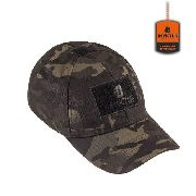 Boné Tático Invictus Trooper Militar Patch CAMUFLADO Multicam Black