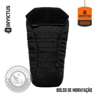Bolso De Hidratação Camelback Tático Invictus Porta Refil PRETO