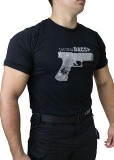 Camiseta Tactical GLOCK PRETA - DACS