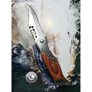 Canivete Wood Steel Com Lanterna