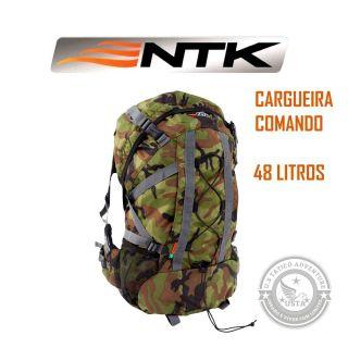 Mochila Ntk Comando 48 L Nautika Trilha E Camping Camuflada