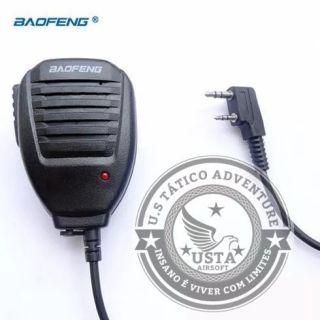 Ptt Baofeng Original Lapela Uv5r - 6r E 82 Para Rádio Airsoft
