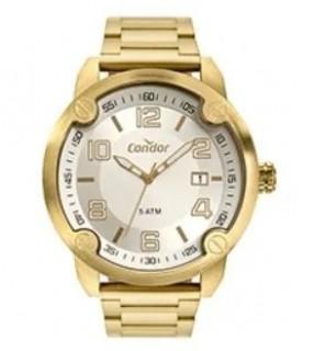 Relógio Condor Stainless Dourado CO2415BQ/4K