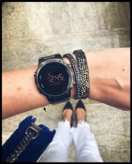 Relógio Euro Digital Fit EUBJ3279AE/K4K