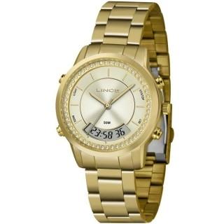 Relógio Feminino Anadigi Lince Orient - LAG4640L C1KX