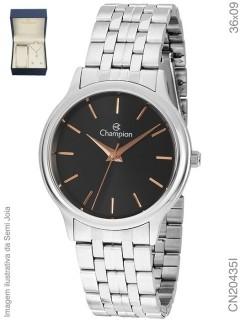 Relógio Feminino Champion Elegance Prata - CN20435I