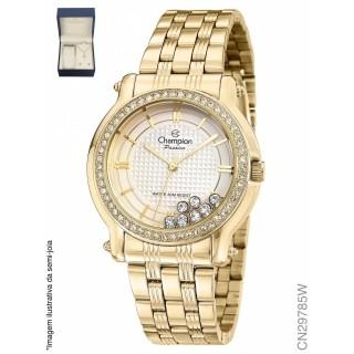 Relógio Feminino Champion Passion Dourado - CN29785W