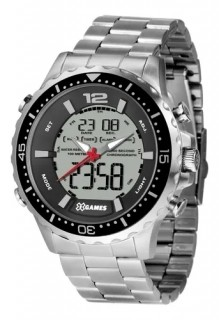 Relógio Masculino Silver X-games Orient - XMSSA008 BXSX