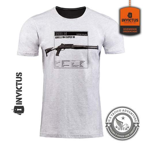 Camiseta T-shirt Concept Invictus Pump