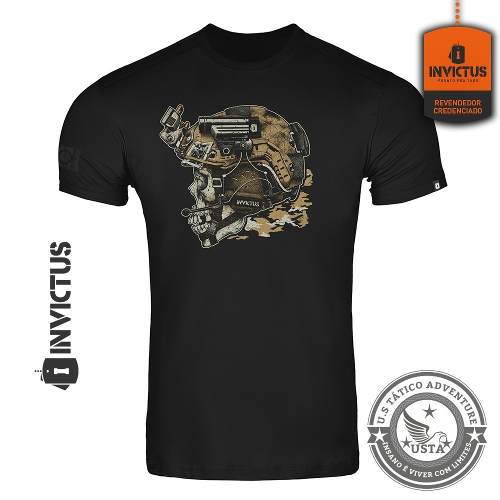 Camiseta T-shirt Concept Invictus Blackjack