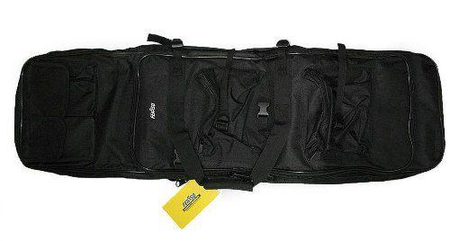 Capa Bolsa Case Airsoft De Alta Qualidade Feasso 2 Armas
