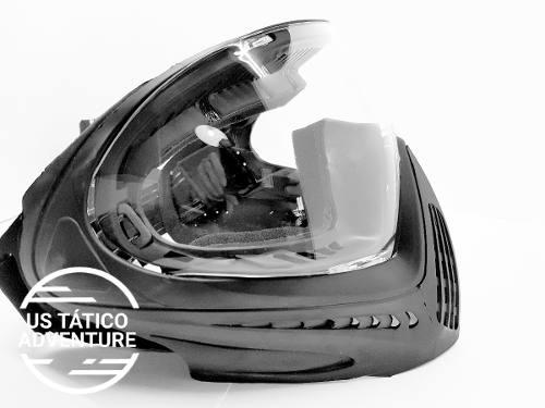 Máscara Full Face Fma Airsoft E Paintball F1 Original Clear