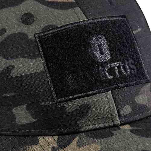 Boné Tático Invictus Gunner Militar Patche Multicam Black