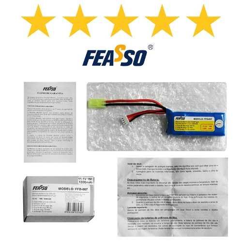 Bateria Ffb-007 (15c) 11.1v 1300mah Original Aeg Airsoft