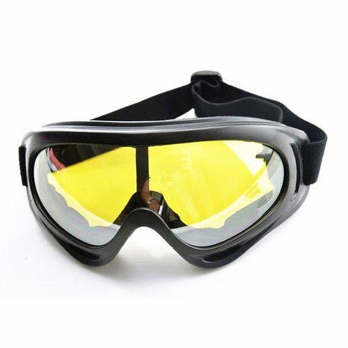 Óculos Airsoft E Paintball Balístico Tático Lente Amarela