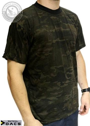 Camiseta Camuflada Multicam Black Tactical Dacs