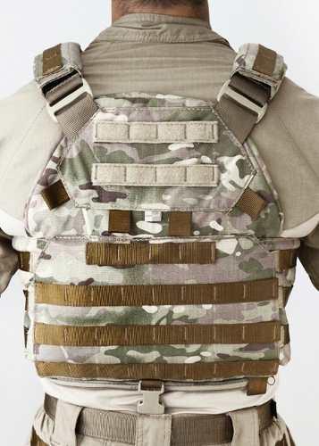 Colete Militar TEMPLÁRIO TACTICAL DACS MULTICAM + 4 PORTA CARREGADORES 556 CORDURA