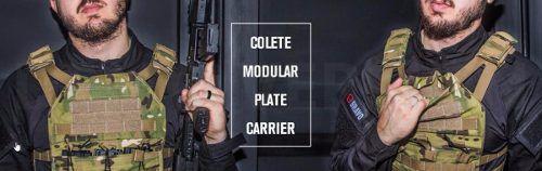 Colete Tático Militar Plate Carrier 3 Carregadores Preto G