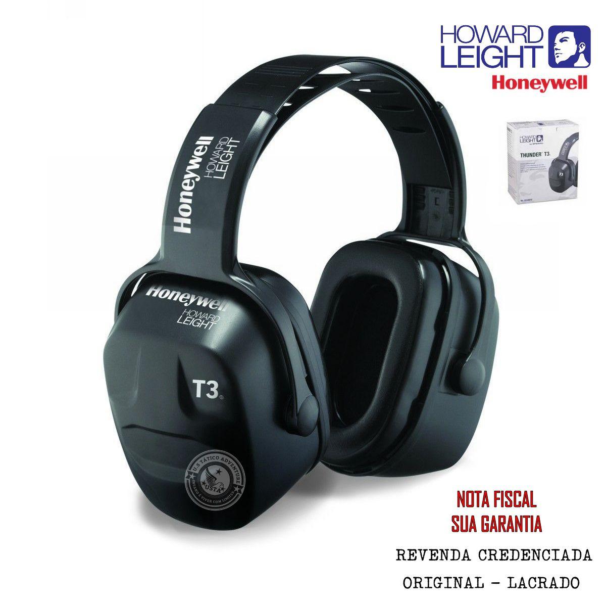 Abafador Protetor Auditivo Honeywell Thunder T3 Original