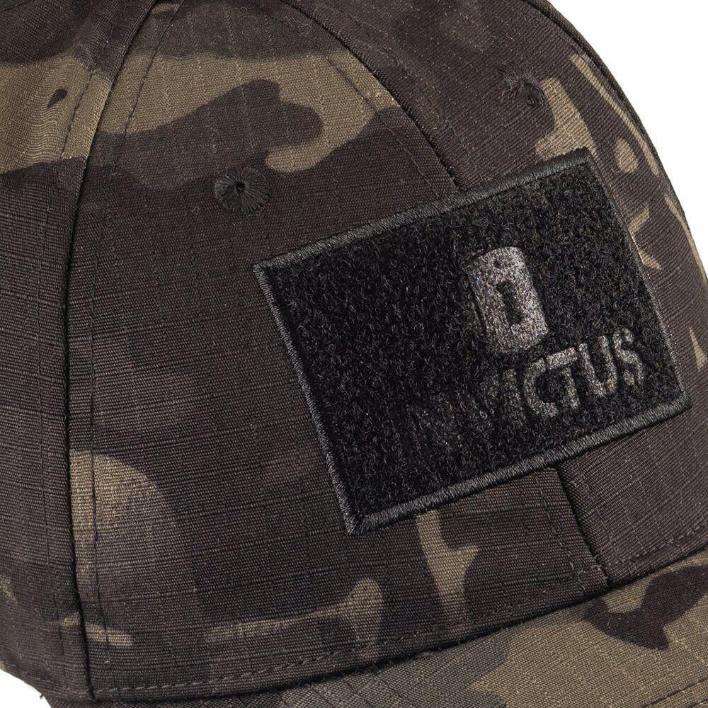 Boné Tático Invictus Trooper Militar Patch CAMUFLADO Multicam Black